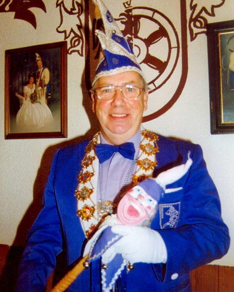 Hans-Joachim Weiermann SFF-Sitzungspräsident von 1995 bis 2005