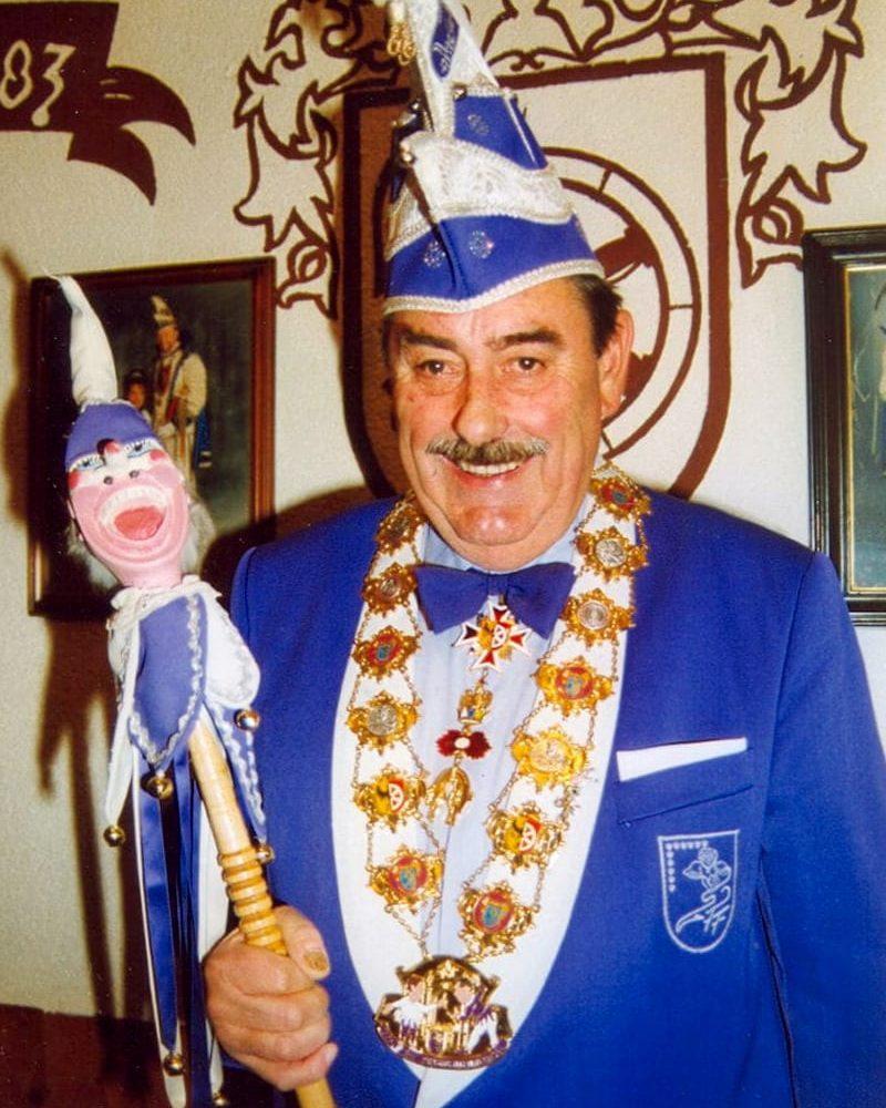 Heinz Reisert SFF-Sitzungspräsident von 1982 bis 1994